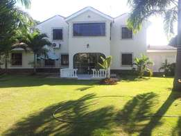 4 br fully furnished HOUSE with swimming pool for rental in nyali