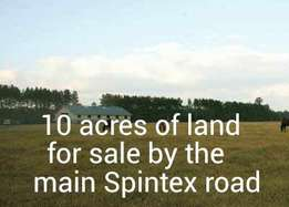 10 acres of land for sale at Spintex