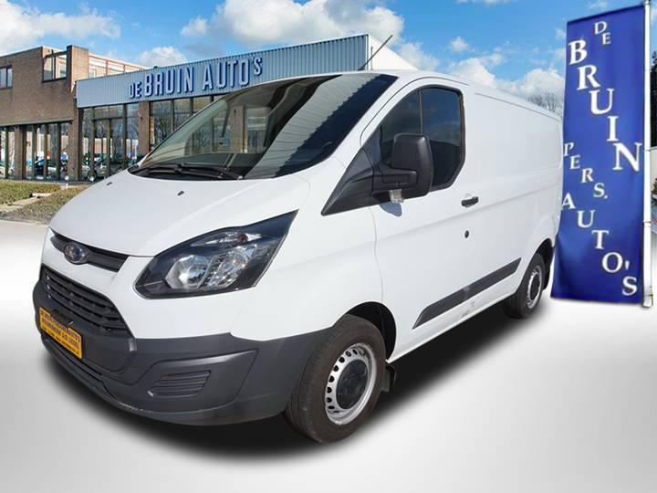Ford Transit Custom 2.2 TDCI 130PK L2 - TREND - AIRCO - ACHTER... - 2017