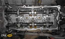 1997 NISSAN MAXIMA QX 2.0 V6 cylinder heads and camshafts