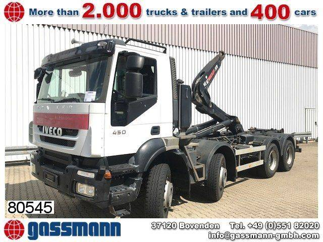 Iveco trakker ad340t45 8x4, intarder - 2010