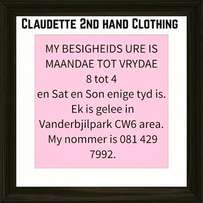 Claudette 2nd hand Clothing