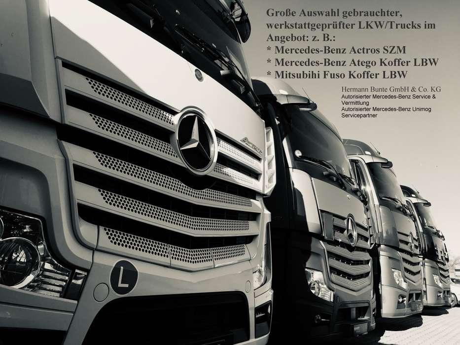 Mercedes-Benz Atego 818L, BÄR Ladebordwand, Klima, Plywood Koffe Euro6 AHK ZV - 2015 - image 8