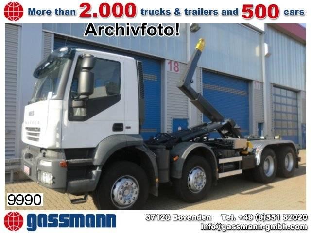Iveco trakker ad340t50 8x4