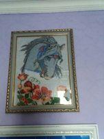 Картина з бісеру КІНЬ повна зашивка 42-33см 8790a7baf4eff