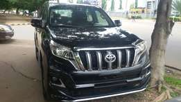 Abuja fairly used Toyota Prado TXL 4*4 2014 upgraded