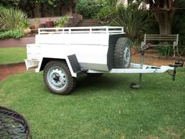 Induscor 4X4 off-road Trailer with tent