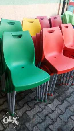 This is a brand new plastic restaurant chairs Lekki - image 1