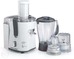 Black & Decker 500W juicer, Blender, Grinder & Mincer- JBGM600-B5