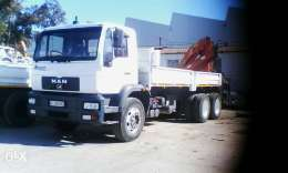 Crane truck for hire