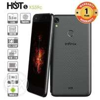 Infinix hot 5 Brand new sealed at shop plus free glass protector 1yr