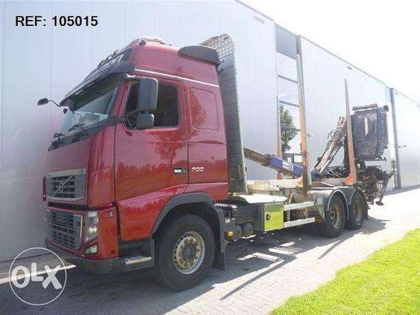 Volvo Fh16.700 6x4 Timber Euro 5 With Penz Cran6 - To be Imported Lekki - image 1