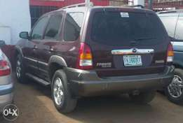 Clean used 2002 mazda tribute