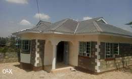 A nice 3 bedroom bungalow in Ongata Rongai.