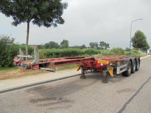Pacton 3-Axle Extendable Chassis / BPW / NL Trailer / Liftaxle - 2007