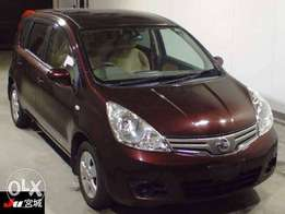 Nissan Note -Year 2010-Ready For Import