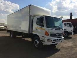 13 HINO 500 SERIES 1626 Volume body for sale