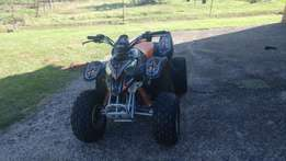 Polaris 4 wheeler 90cc 2stroke