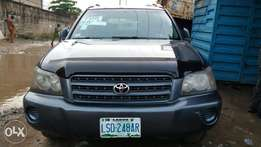 First Body Registered Toyota Highlander 2003