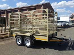 Double acle 3m cattle trailer for sale, R31 369.00 INCL VAT!