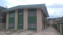 A 4 flat storey building with BQ.