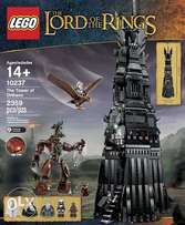 lego lord of the rings - The Tower of Orthanc 10237