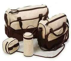 5 in 1 Baby bags