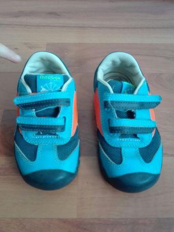 Adidasy Reebok r. 23,5 dziecięce niebieskie chłopięce na