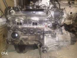 Toyota 2E 1.3 motor and 5speed gearbox
