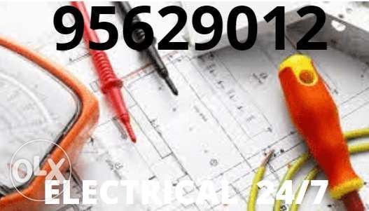 Electrician opens for any electric and plumbing works whenever you nee