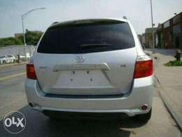 Toyota Highlander for sale at cheep and affordable price which is not