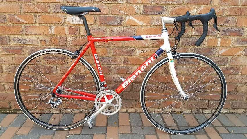 Bianchi Pro Race Team Road Bike - Collector s item - Bicycles ... efb3a36aa