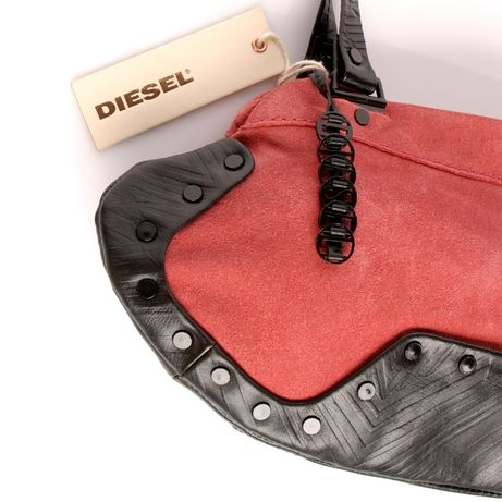 19abe6affb38 Diesel Италия 100% кожа замша сумка женская кожаная сумочка клатч хобо Киев  - изображение 4