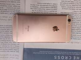 IPhone 6s rose gold 32gig very neat