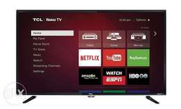 TCL 32 inch Smart TV.