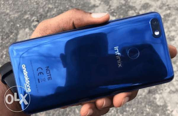 infinix note 5 for sale used 6 month Security