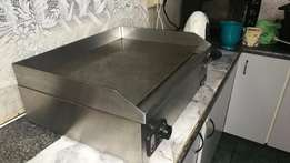 Anvil flat top electric grill, 605 x 420mm