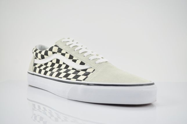 VANS OLD SKOOL CHECKERBOARD WHITE Szachownica