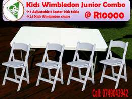 Kids wimbeldon junior combo