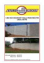 Boundary/Security Walls