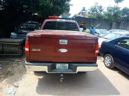 4months registered Ford F150 4x4 double cabin with security siren.