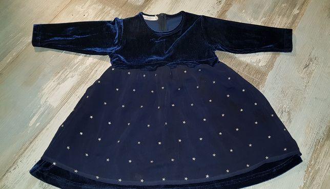 027fae9e53 Śliczna sukienka dla dziewczynki na święta rozm 74 Bydgoszcz - image 1
