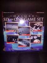 6 in 1 glass game set available.