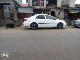 Toyota corolla 07model tincan clear nothing to fix at good pricei