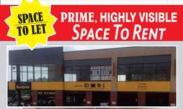 Commercial space to let opposite Illanga Mall, on the N4