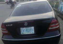 Clean like tokunbo first body Mercedes Benz C240