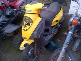 kymco 100cc 2 stroke scooter R1500 AT clives bikes storage