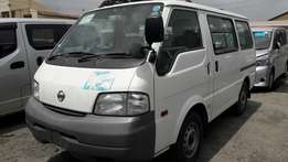Nissan vannet brand new on sale.