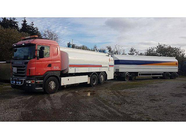 Scania R480 Roadtrain 60.000 Liter ADR Pomp Euro 5 - 2010