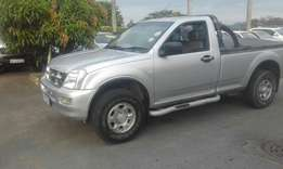 A Classic 2006 Isuzu 2.5D Single can with only 150000km, accident free